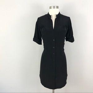 Geren Ford XS 100% Silk Dress Black